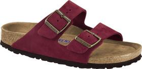 Birkenstock Arizona SFB Sandals Suede Leather Women antique port